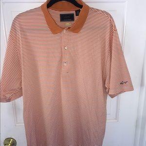 Greg Norman Play dry White Orange Large Polo